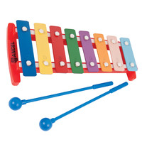Angel APG-8P C3-C4 8 Note Diatonic Glockenspiel Coloured Keys
