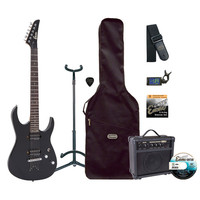 Encore E89 Electric Guitar Outfit Black