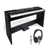 Alesis CODA Pro 88-Key Digital Piano with Stand and FREE Headphones