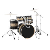 Pearl EXL725S Export Lacquer Drum Kit Nightshade Lacquer