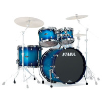 Tama Starclassic Performer 22 4 Pc Shell Pack Twilight Blue Burst