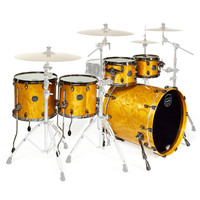 Mapex Saturn V Exotic 22 Sub Wave Twin Shell Pack Amber Maple