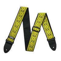 Dunlop Jacquard Guitar Strap Fillmore Yellow