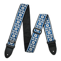 Dunlop Jacquard Guitar Strap Avalon Blue