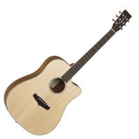Tanglewood Premier TPE DCE Ash Electro Acoustic Natural Satin