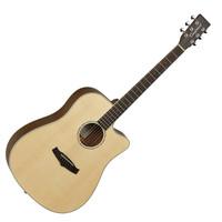 Tanglewood Premier TPE DCE Zebrano Electro Acoustic Natural Satin