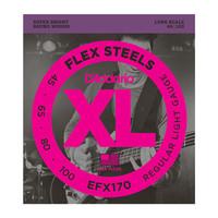 DAddario EFX170 FlexSteels Bass Light 45-100 Long Scale