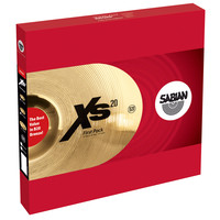 Sabian XS20 13 First Pack Cymbal Set Brilliant Finish