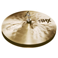 Sabian HHX 13 Manhattan Jazz Hi-Hat Cymbals Natural Finish