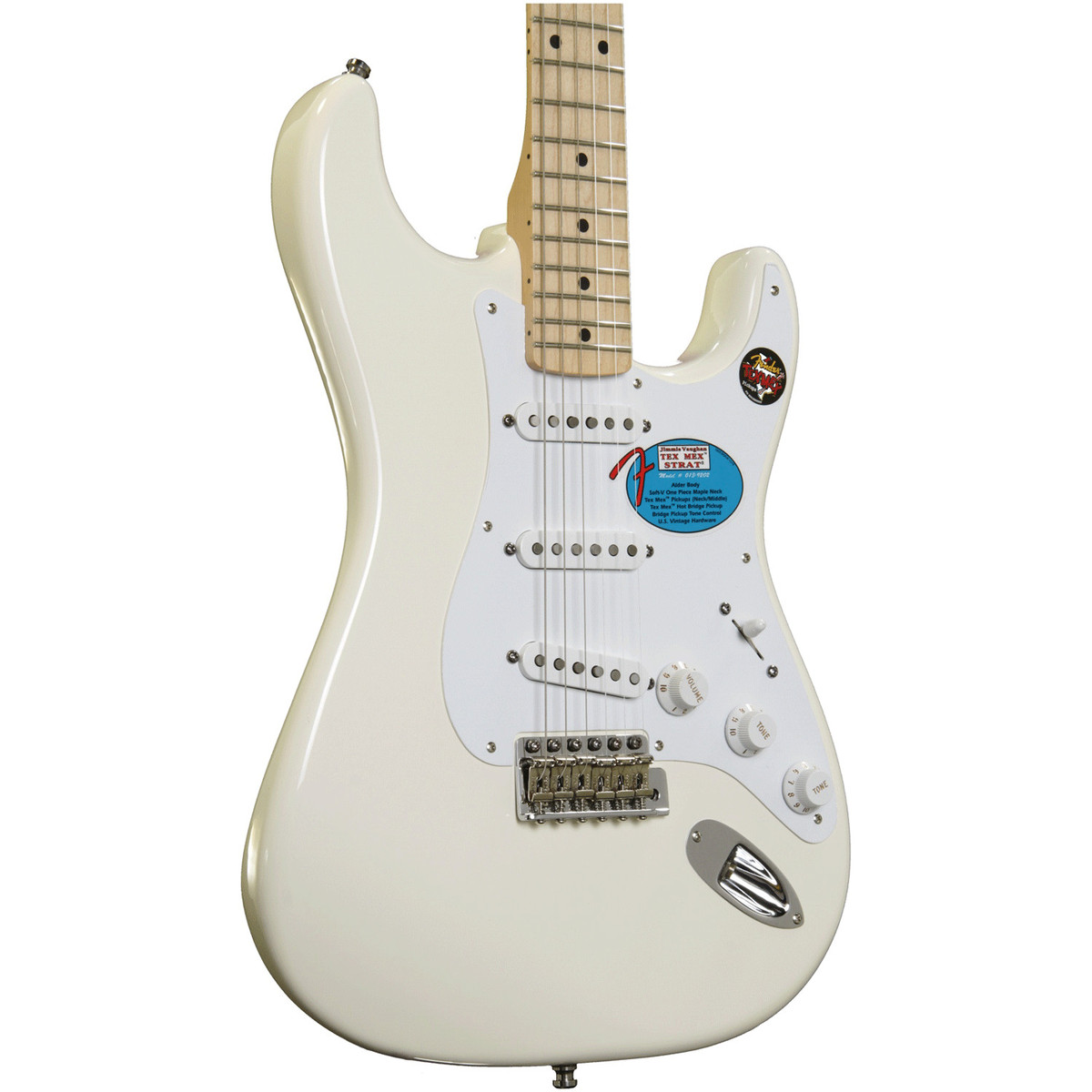 Jimmie Vaughn Fender Stratocaster Wiring Diagrams Tex Mex Pickup Diagram Vaughan Guitar Olympic White