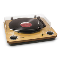 ION Max LP USB Turntable with Integrated Speakers