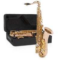 Rosedale Tenor Saxophone Rose + Gold By Gear4music