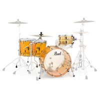 Pearl Crystal Beat 22 Crossover 4 Pc Shell Pack Tangerine Glass