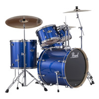 Pearl Export EXX 22 Am Fusion Drums Blue Sparkle w/ Sabian Cymbals