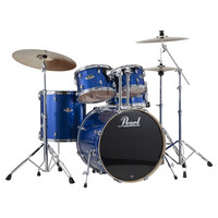 Pearl Export EXX 22 Fusion Drums Blue Sparkle with Sabian Cymbals