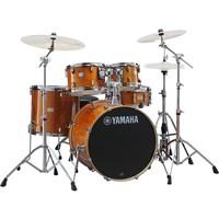 Yamaha Stage Custom Birch 20 5 Piece Drum Kit Honey Amber
