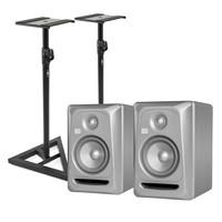 KRK Rokit RP5 G3 Platinum Studio Monitors (Pair) Includes Stands