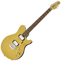 Music Man Reflex Trem Electric Guitar RW Gold Top