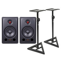 Fostex PX-5 Professional Studio Monitors with Stands (Pair)