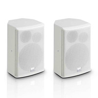 LD Systems SAT 62 G2 6.5 Passive Installation Monitor White (Pair)
