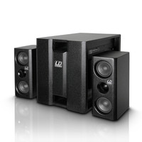 LD Systems DAVE8XS Compact Active PA System Black