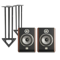 Focal Solo 6 BE Active Monitors with Stands (Pair)