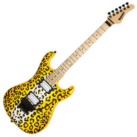 Kramer Pacer Vintage Satchel Signature Guitar Yellow Leopard