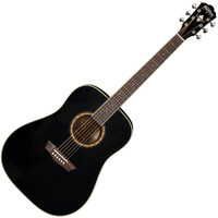 Washburn WD10S Acoustic Guitar Black