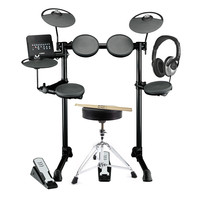 Yamaha DTX400K Electronic Drum Kit with Headphones Stool + Sticks