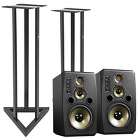 Adam S3X-V Active Near/Midfield Monitor with Stands (Pair)