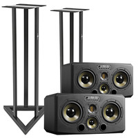 Adam S3X-H Active Near/Midfield Monitors with Stands (Pair)