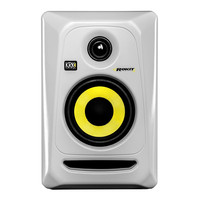 KRK Rokit RP4 G3 Studio Monitor in White Single