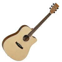 Tanglewood Discovery DBT DCE Electro Acoustic Guitar Natural
