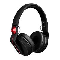 Pioneer HDJ-700 Professional DJ Headphones Black/Red