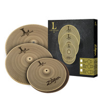 Zildjian L80 Low Volume 348 Cymbal Box Set