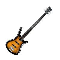 Warwick Rockbass Corvette Classic 4-String Bass Almond Sunburst