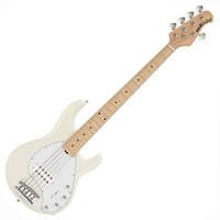 Music Man StingRay-5 Bass Guitar MN White