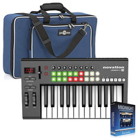 Novation Launchkey 25 Controller with Keyboard Bag by Gear4music
