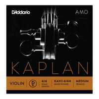 DAddario Kaplan Amo Violin D String 4/4 Scale Medium