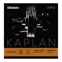 DAddario Kaplan Amo Violin G String 4/4 Scale Medium