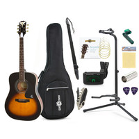 Epiphone Pro-1 PLUS Beginners Guitar Pack Vintage Sunburst