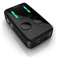IK Multimedia iRig Pro DUO 2-Channel Interface for iOS Mac and PC