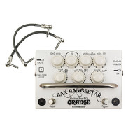 Orange BAX Bangeetar Guitar Pre-EQ Pedal White + Free Cables