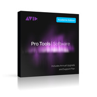 Avid Pro Tools Student/Teacher with Annual Upgrade & Support Plan