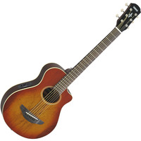Yamaha APXT2EW 3/4 Electro Acoustic Guitar Light Amber Burst