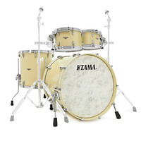 Tama Star Walnut 22 4 Piece Shell Pack Antique White
