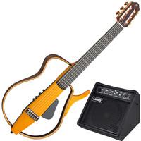Yamaha SLG130NW Silent Guitar Amber Burst + Free Laney Amplifier