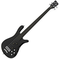 Warwick Rockbass Streamer NT1 Active Fretless Bass Guitar Black HP