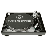 Audio-Technica AT LP120 USB Professional USB DJ Turntable Black