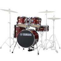 Yamaha Manu Katche 5 Piece Junior Drum Kit Cranberry Red